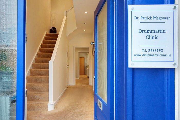 Drummartin Clinic Front Door